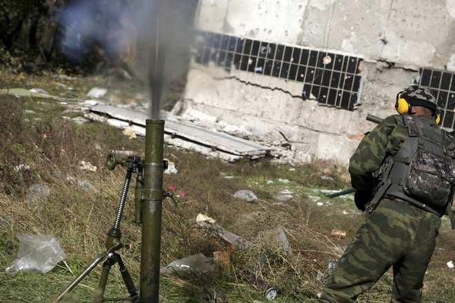 Харцызск подвергся обстрелу изминомета: предположительно работала ДРГ | Русская весна