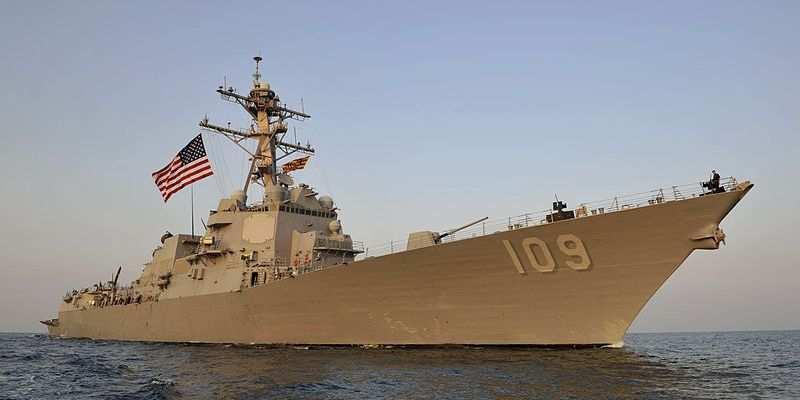 Американский корабль-миноносец войдет в порт Одессы   Русская весна