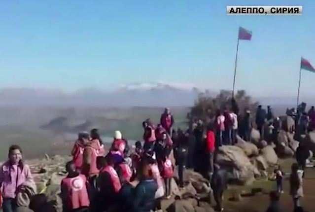 Митинг сирийских курдов подобстрелами (ВИДЕО) | Русская весна