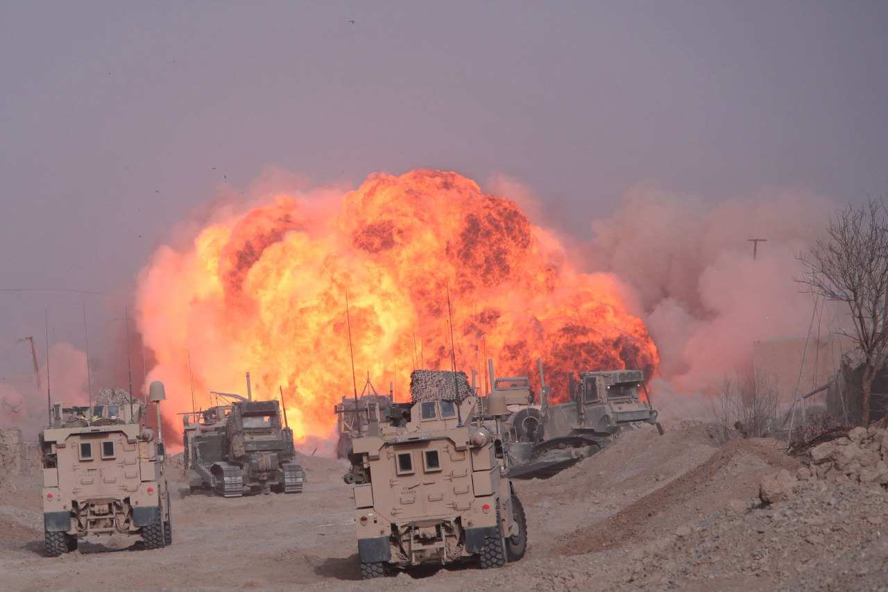 СРОЧНО: потери от взрывов в лагере спецназа США уже превысили 40 человек (КАРТА) | Русская весна