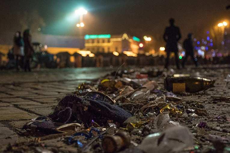 Киев: варварская встреча Нового года | Русская весна