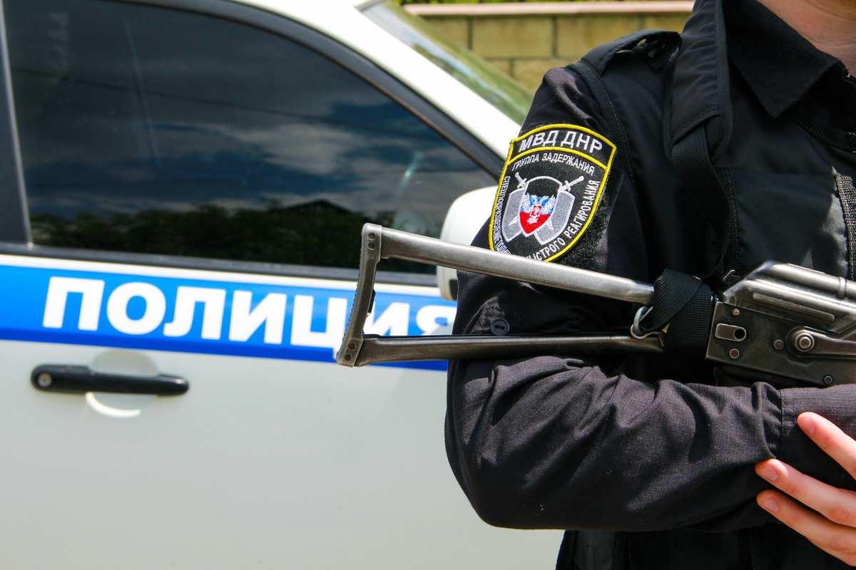Полиция ДНР задержала вооруженных разбойников (ВИДЕО) | Русская весна