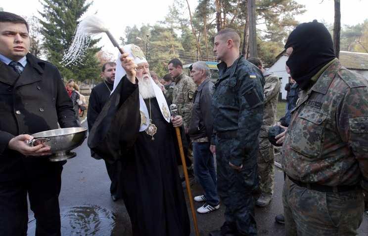 Националисты захватили на Украине 23 православных храма Московского патриархата | Русская весна