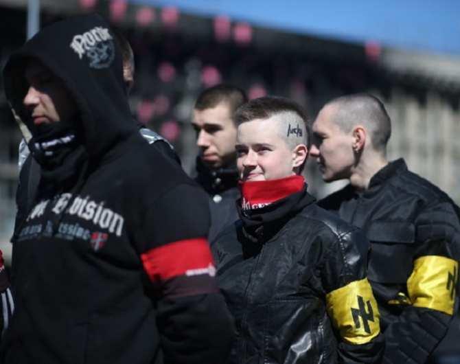 Пощечина демократии, или нацизм как госидеология (ФОТО, ВИДЕО) | Русская весна