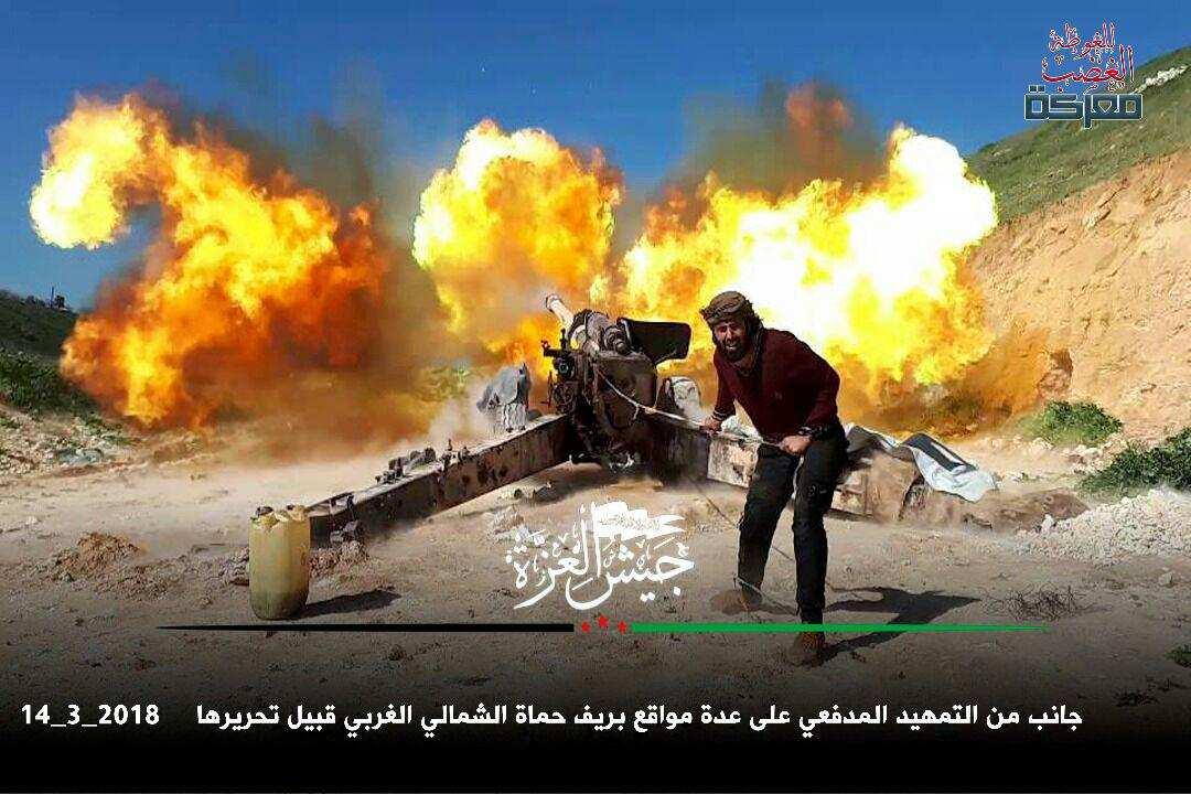 Сирия: «Аль-Каида» начала наступление в Хаме, ВКС РФ и САА уничтожили десятки боевиков (ВИДЕО) | Русская весна
