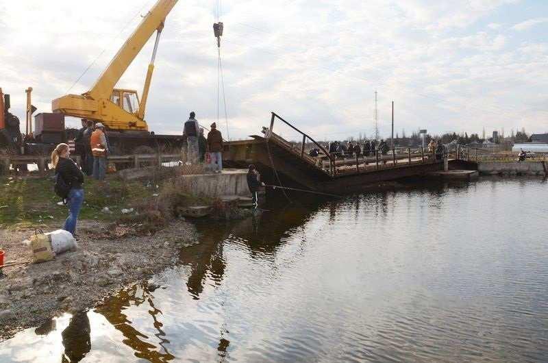Под Николаевом «устал и утонул» мост (ФОТО, ВИДЕО) | Русская весна