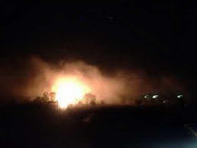 По Горловке нанесли удар украинские «Грады» и САУ, бронетехника ВСУ попыталась прорваться в город | Русская весна