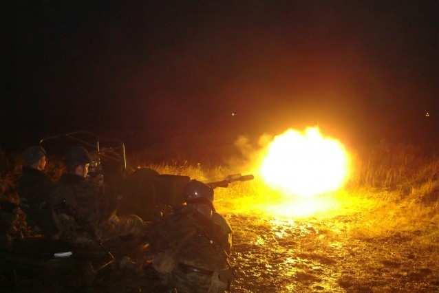 Горловка под мощным обстрелом: применяются САУ, танки, гаубицы Д-30, АГСы и стрелковое оружие   Русская весна