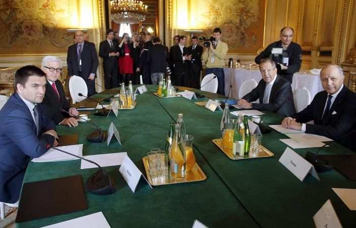 Главы МИД «нормандской четверки» обсудят процесс реализации минских договоренностей   Русская весна
