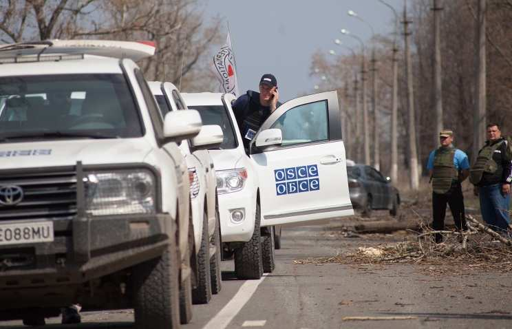 ВСУобстреливают ЛНРдаже вприсутствии ОБСЕ (ФОТО)   Русская весна