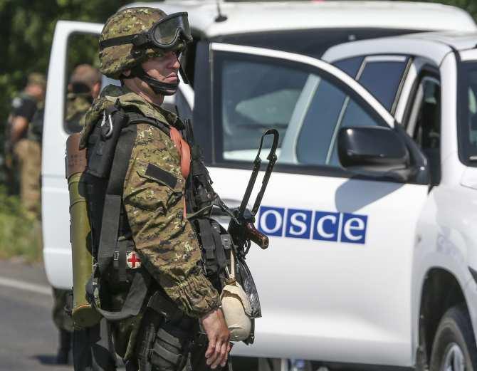ВАЖНО: ВСУ не пропустили делегацию ОБСЕ в Счастье, отказавшись разминировать мост | Русская весна