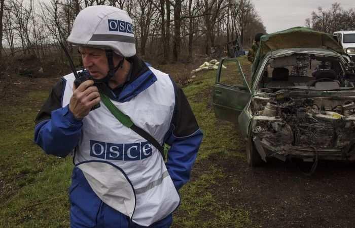 Отчет ОБСЕ: Массированные обстрелы Донецка велись с северного направления | Русская весна