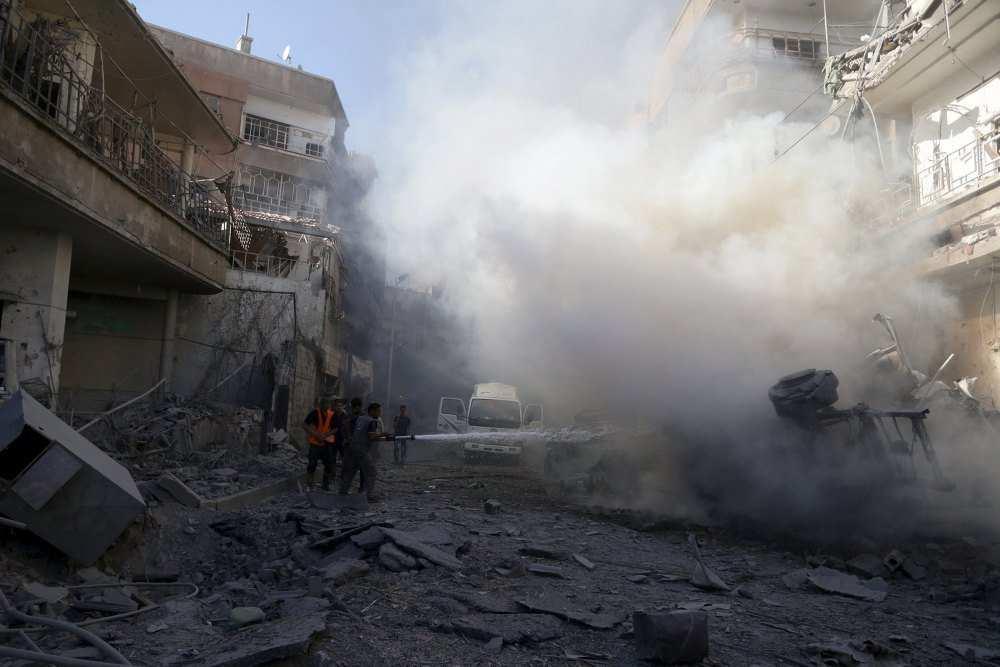 Боевики «Джейш аль-Ислам» обстреляли из минометов жилые кварталы Дамаска | Русская весна