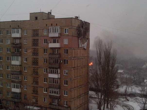 Военный обзор: в Дебальцевском котле горячо, в Доброполье оккупанты боятся штурма, а Донецк под огнем   Русская весна