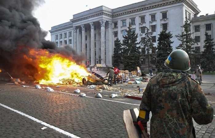 В Одессе поминают жертв майской трагедии | Русская весна