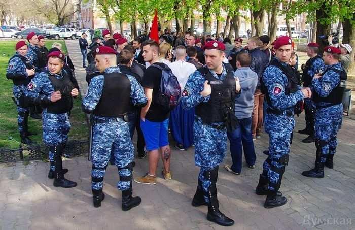 Террор в Одессе: разогнан марш мира | Русская весна