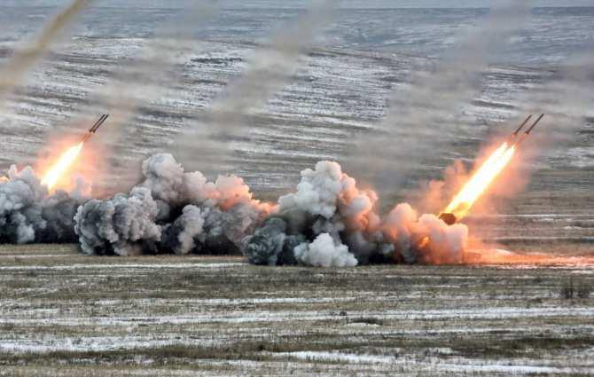 Сводка: район активных боевых действий — Дебальцевское тактическое направление | Русская весна