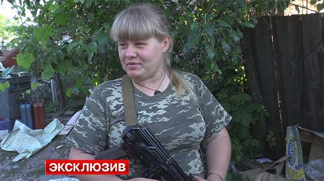 Ополченки сказаками защищают поселок Сокольники вЛНР(ВИДЕО) | Русская весна