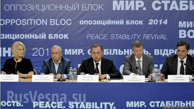 В «Оппозиционном блоке» оживились: хотят выиграть выборы в восьми областях, грозят Порошенко «ответственностью» | Русская весна