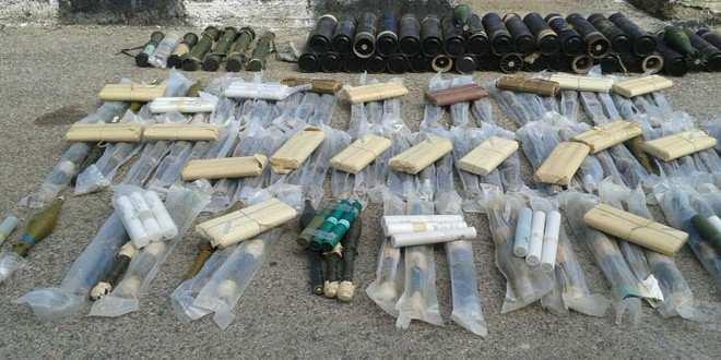 В Сирии спецслужбы задержали грузовик с оружием израильского производства (ФОТО) | Русская весна