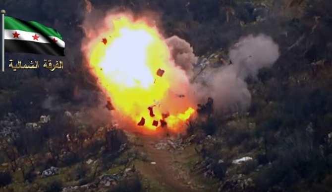 «Обезьяна сПТУРом»: сирийские боевики расстреляли брезентовую палатку ракетой «TOW» (ВИДЕО) | Русская весна