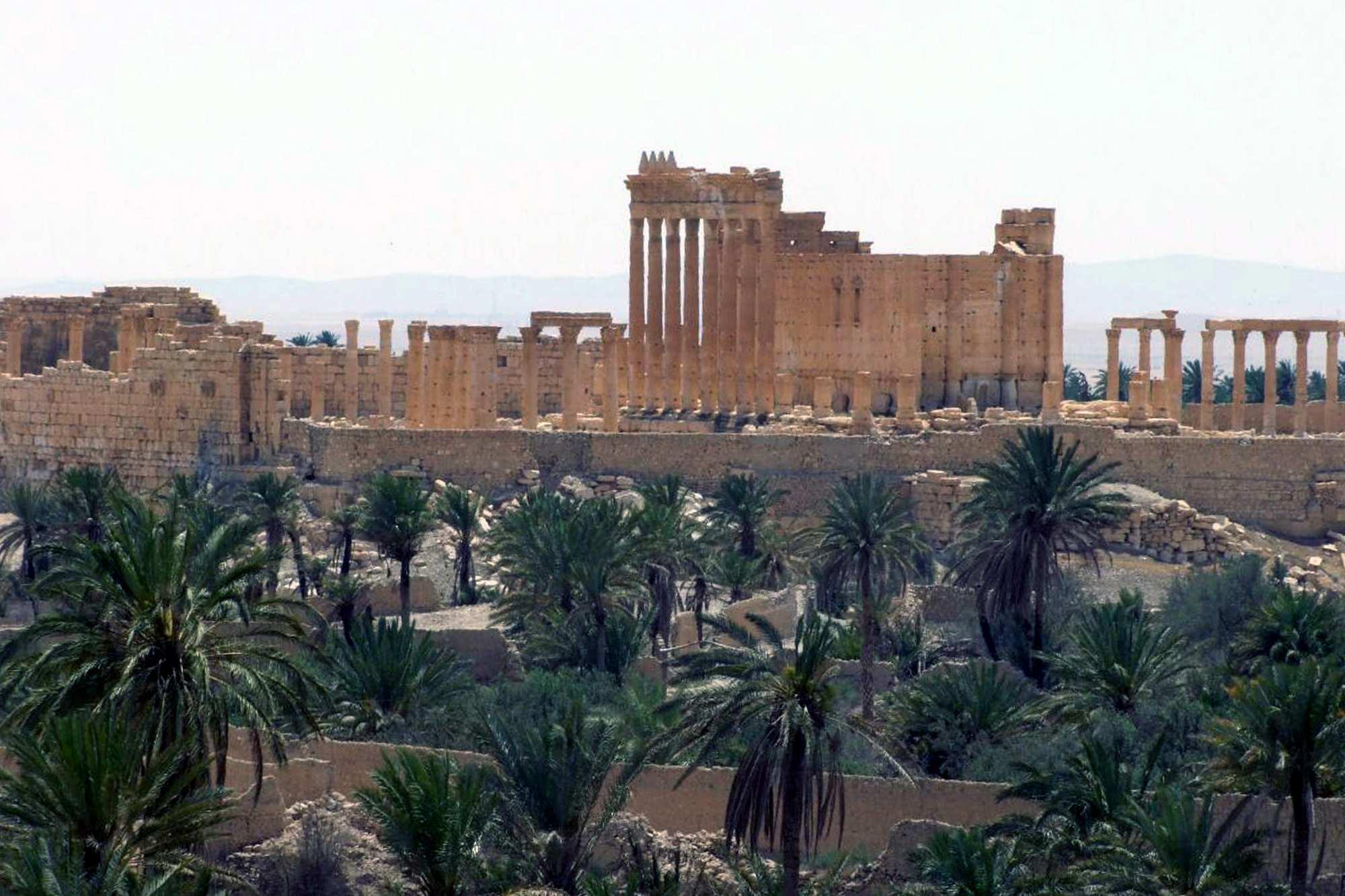 Освобожденная Пальмира с высоты птичьего полета (ВИДЕО) | Русская весна