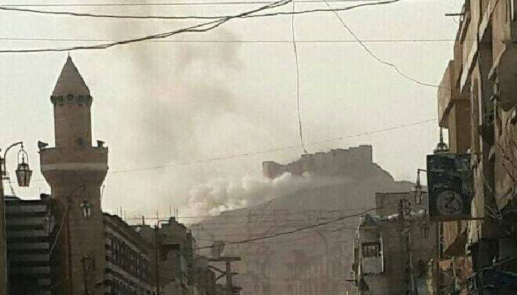СРОЧНО: Сирийская армия штурмует крепость в Пальмире, выжигая ИГИЛ термобарическими ракетами | Русская весна