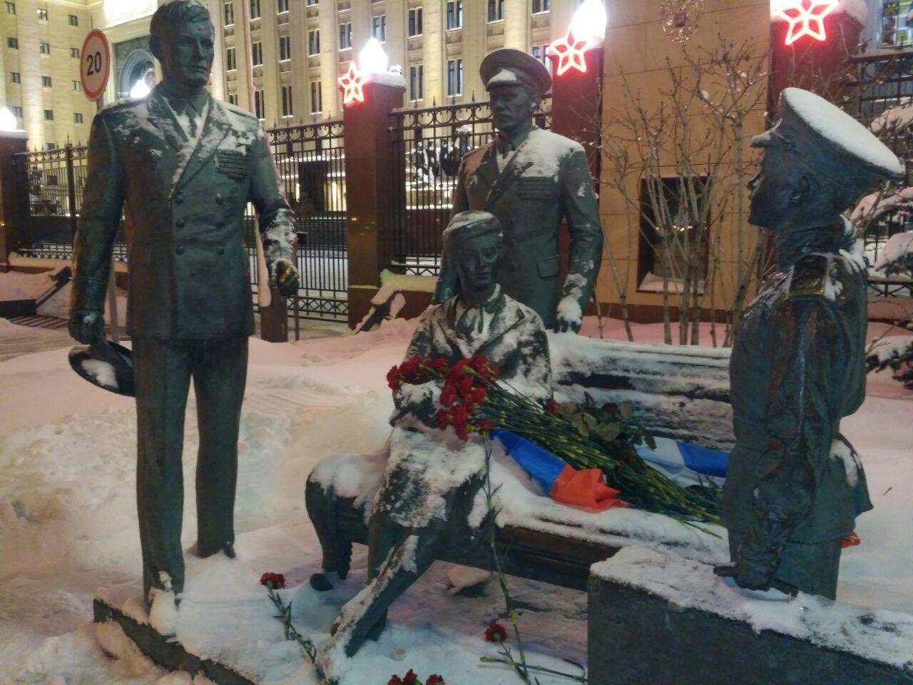 Подвиг Героя в сердце России: москвичи отдают дань памяти майору Филипову (ФОТО, ВИДЕО) | Русская весна