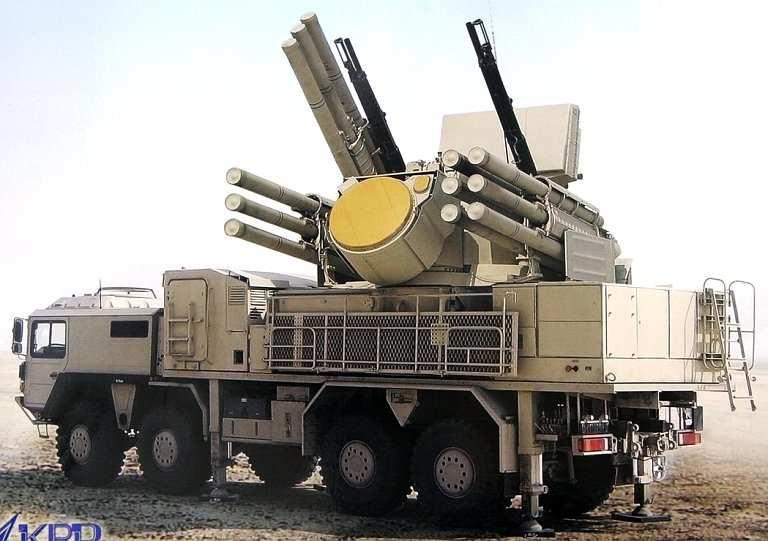 «Панцирь-С1» неоднократно сбивал ракеты террористов вСирии | Русская весна