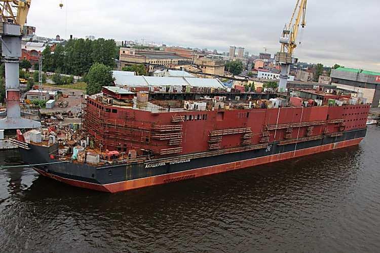 Единственная в мире плавучая атомная электростанция будет запущена в РФ в следующем году | Русская весна