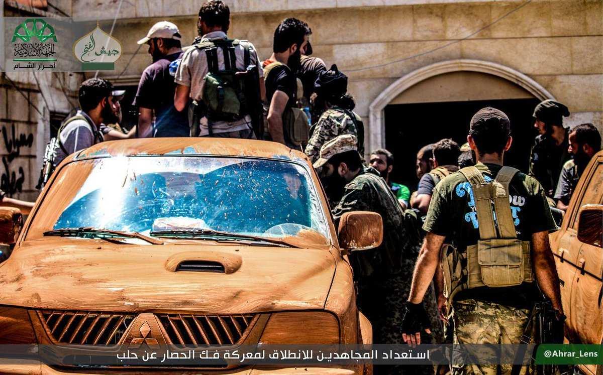 СРОЧНО: Достигнута договорённость о выходе последних боевиков из Алеппо | Русская весна