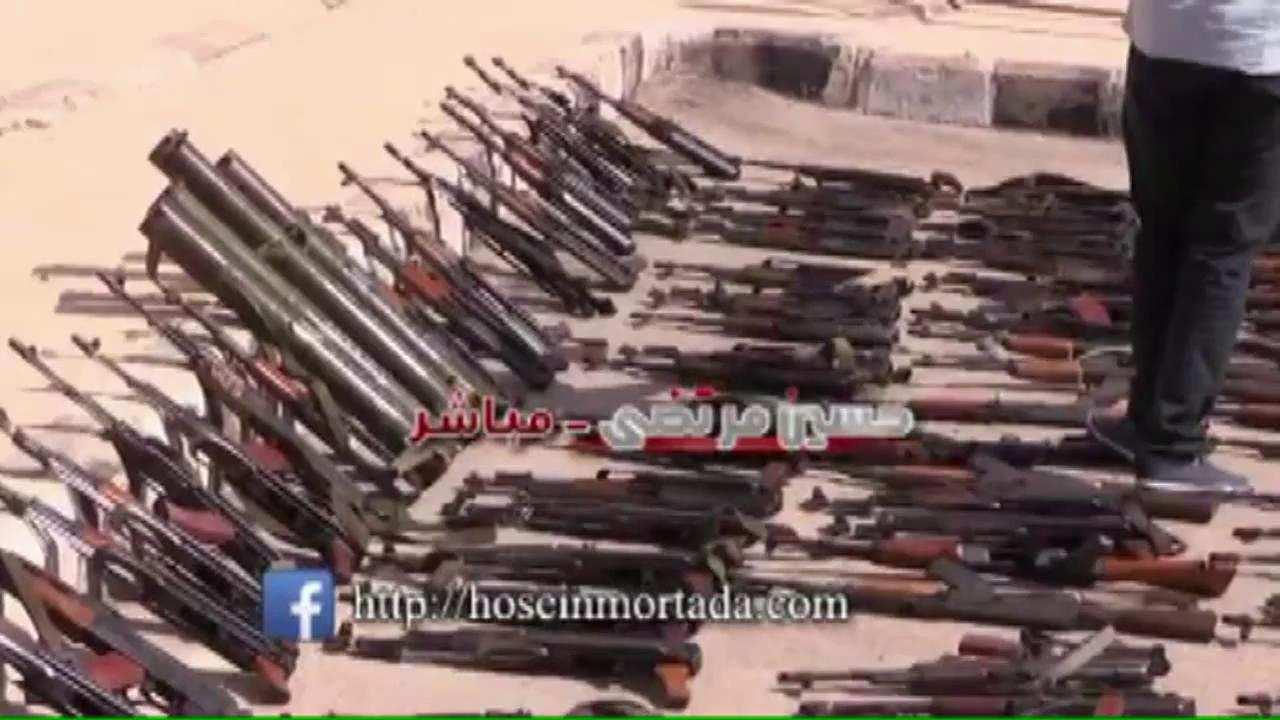 Массовая сдача террористов в плен на юге Сирии (ВИДЕО) | Русская весна
