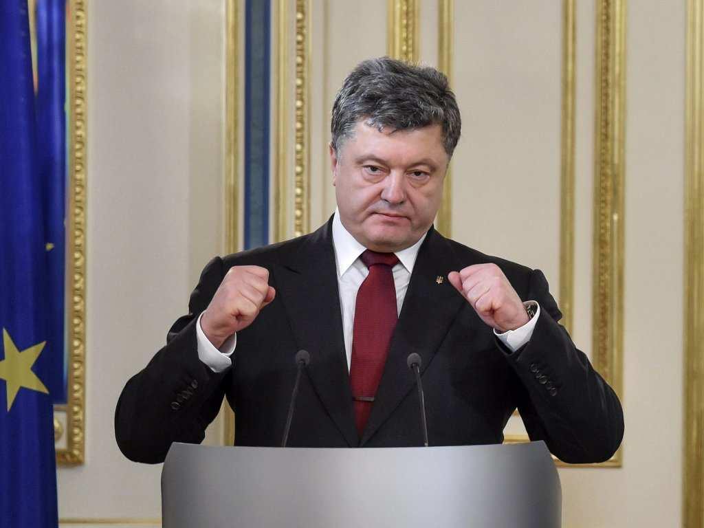 Порошенко объявил о намерении отбить и восстановить Донецкий аэропорт | Русская весна