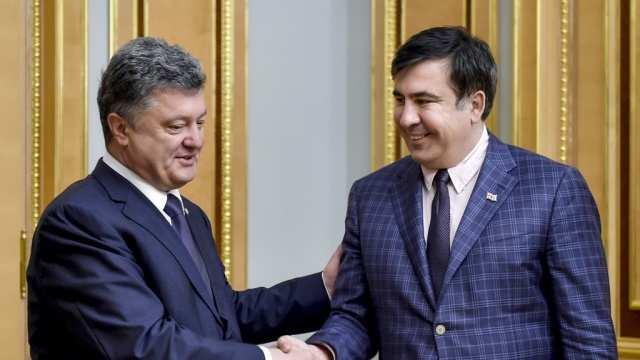 Порошенко: Саакашвили будет отличным премьером Грузии | Русская весна