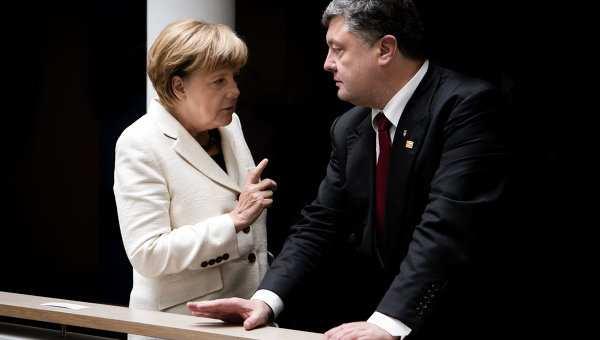 Берлин отворачивается от Киева: как Украина сама себя высекла на Азове | Русская весна