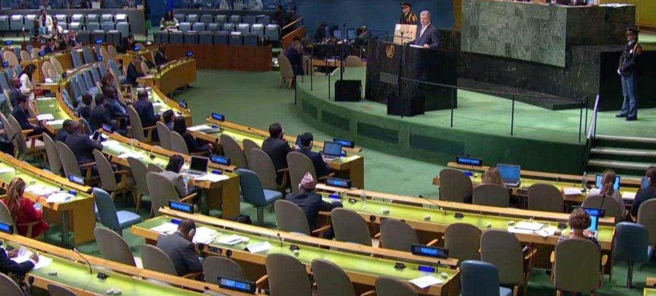 Порошенко выступил перед полупустым залом Генассамблеи ООН и спящим Климкиным (ФОТО, ВИДЕО) | Русская весна