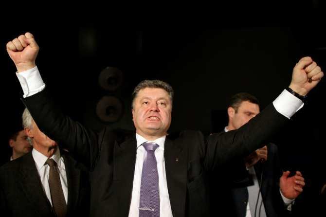 Порошенко пойдет на второй срок с рейтингом Ельцина | Русская весна