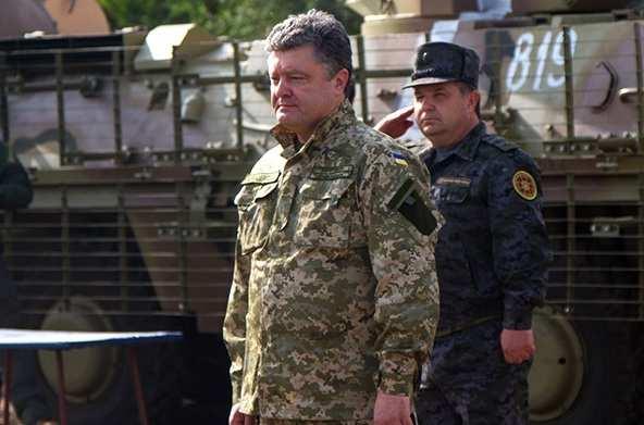 Рождественский подарок от Порошенко: украинская армия получит еще 100 единиц военной техники | Русская весна
