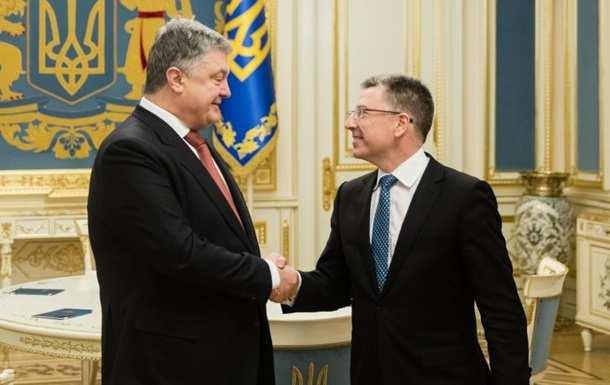 Порошенко обсудил с Волкером санкции против России | Русская весна