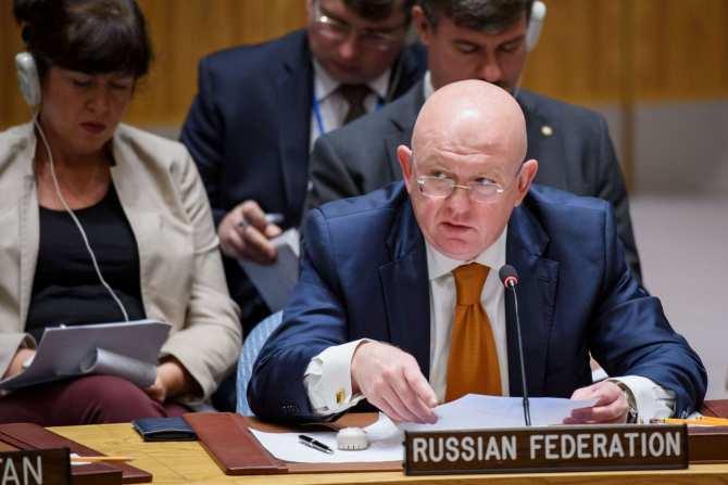 Постпред РФ при ООН обвинил Запад в поддержке террористов в Сирии | Русская весна