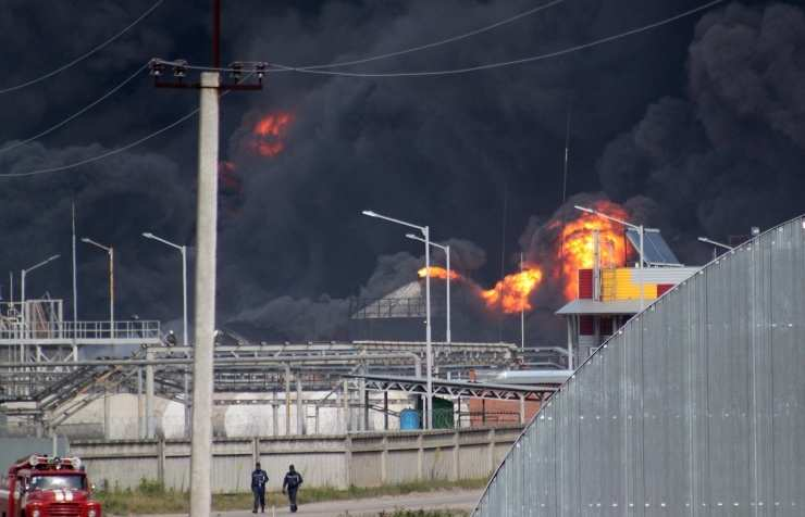 Концентрация вредных веществ в Киеве превышена в четыре раза | Русская весна