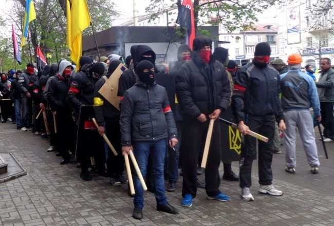 «Правый сектор»  просит у Авакова защиты от милиции Одессы  | Русская весна