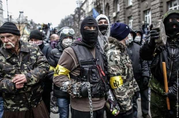 У «Правого сектора» в заложниках оказались два полковника СБУ    Русская весна