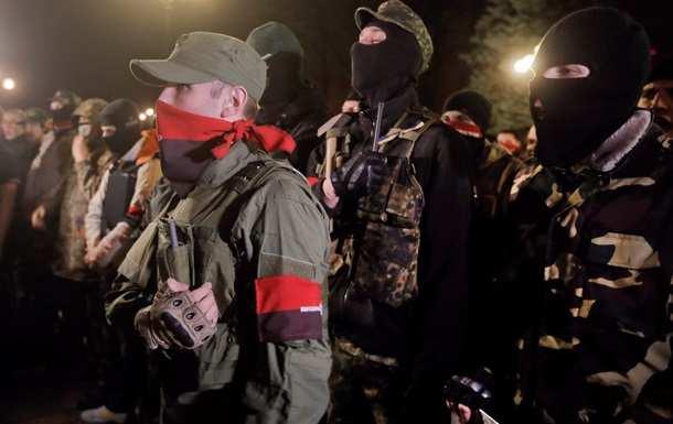 Боевики «Правого сектора» требуют от Порошенко возобновления войны на Донбассе (ВИДЕО) | Русская весна