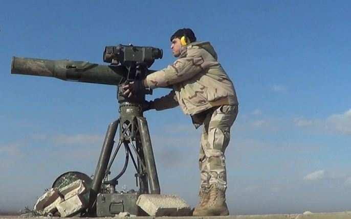 Чудо-техника изРоссии спасает солдат САА? — американская ракета «TOW» взорвалась недолетев добойцов (ВИДЕО, ФОТО) | Русская весна