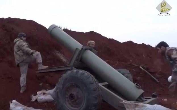 Гигантская «шайтан-пушка» сирийских боевиков ведет огонь подАлеппо (ВИДЕО) | Русская весна