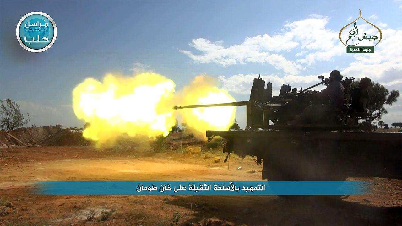 «Ан-Нусра» пошла в наступление в Алеппо, обстрелян аэропорт, а также населенные пункты в Латакии (ФОТО) | Русская весна