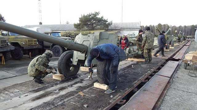 Минобороны Украины готовит артиллерию к карательной операции в Новороссии | Русская весна