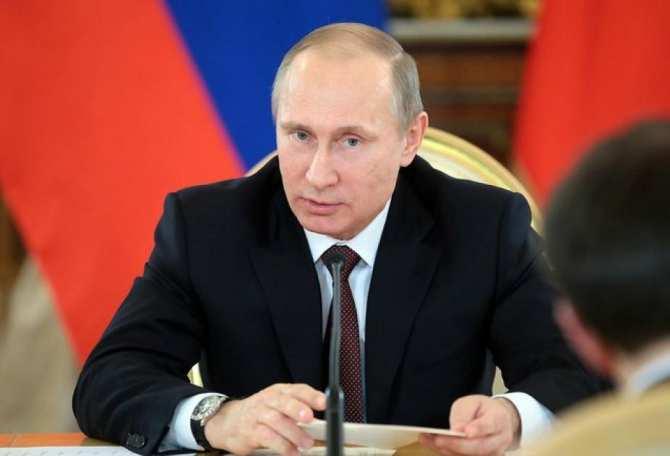 Путин проводит совещание с Минобороны по вопросам операции РФ в Сирии | Русская весна