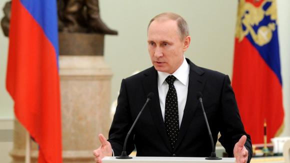Путин: «Делегация Евросоюза встала иушла, заявив, чтоигра закончена»   Русская весна